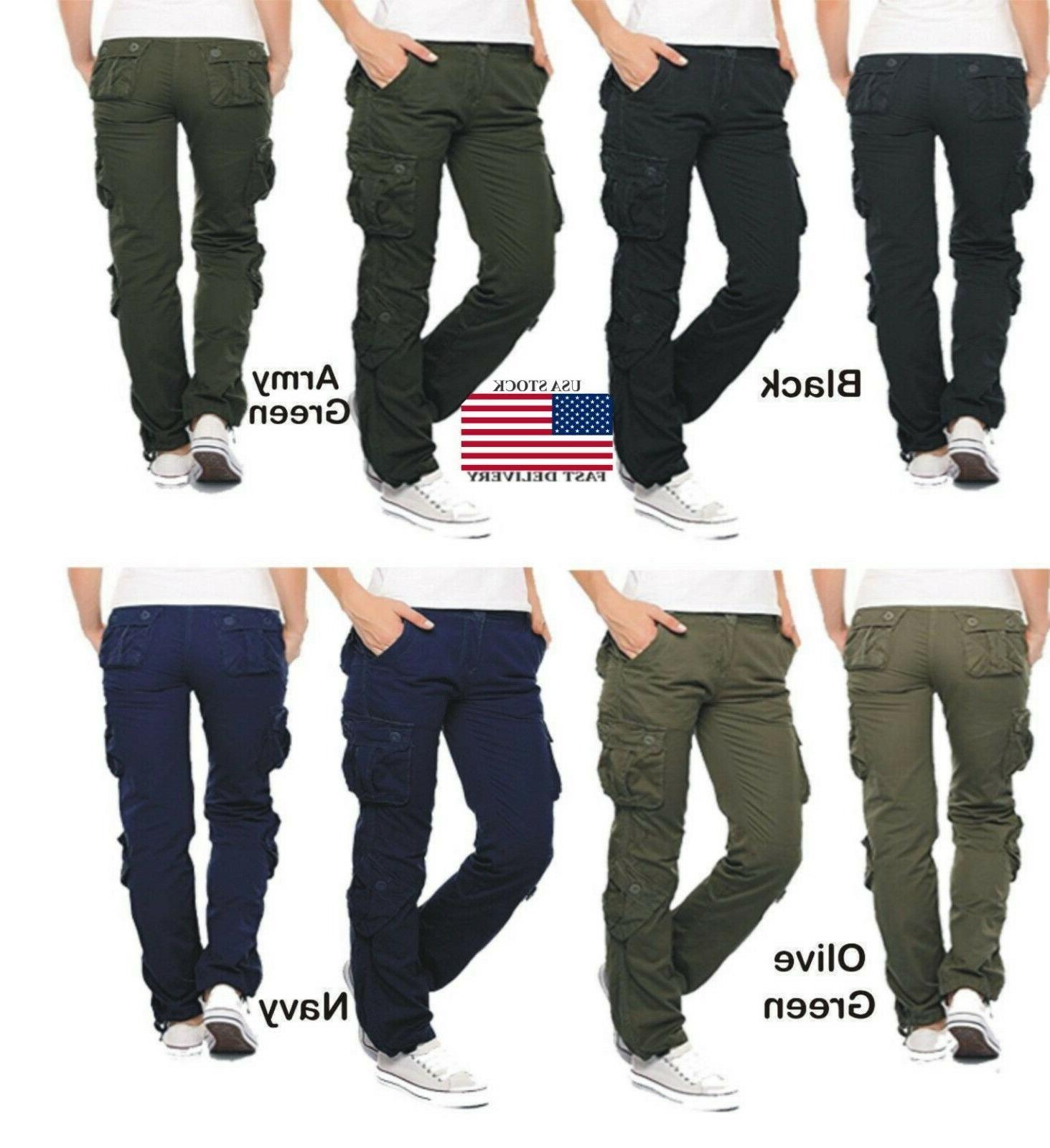 Womens Military Combat Trouser Ladies Cargo Pants & Girl Arm
