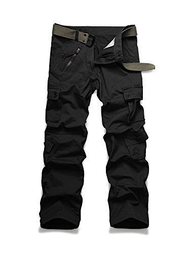 woodland military cargo pant black