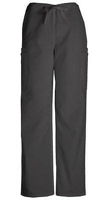 Cherokee Workwear Scrubs Men's Cargo Scrub Pants 4000 Black