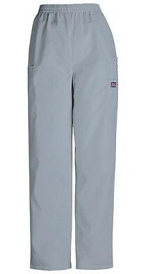 Cherokee Workwear Scrubs Pull On Cargo Pant GREY 4200 elasti