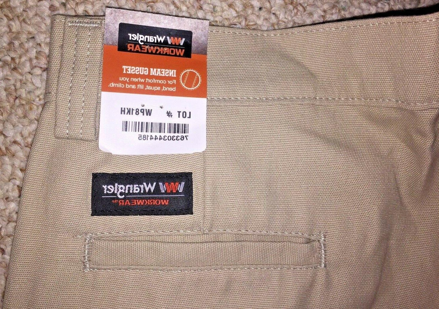 Wrangler Cargo Work Pant Tan Size 6 New with Tags