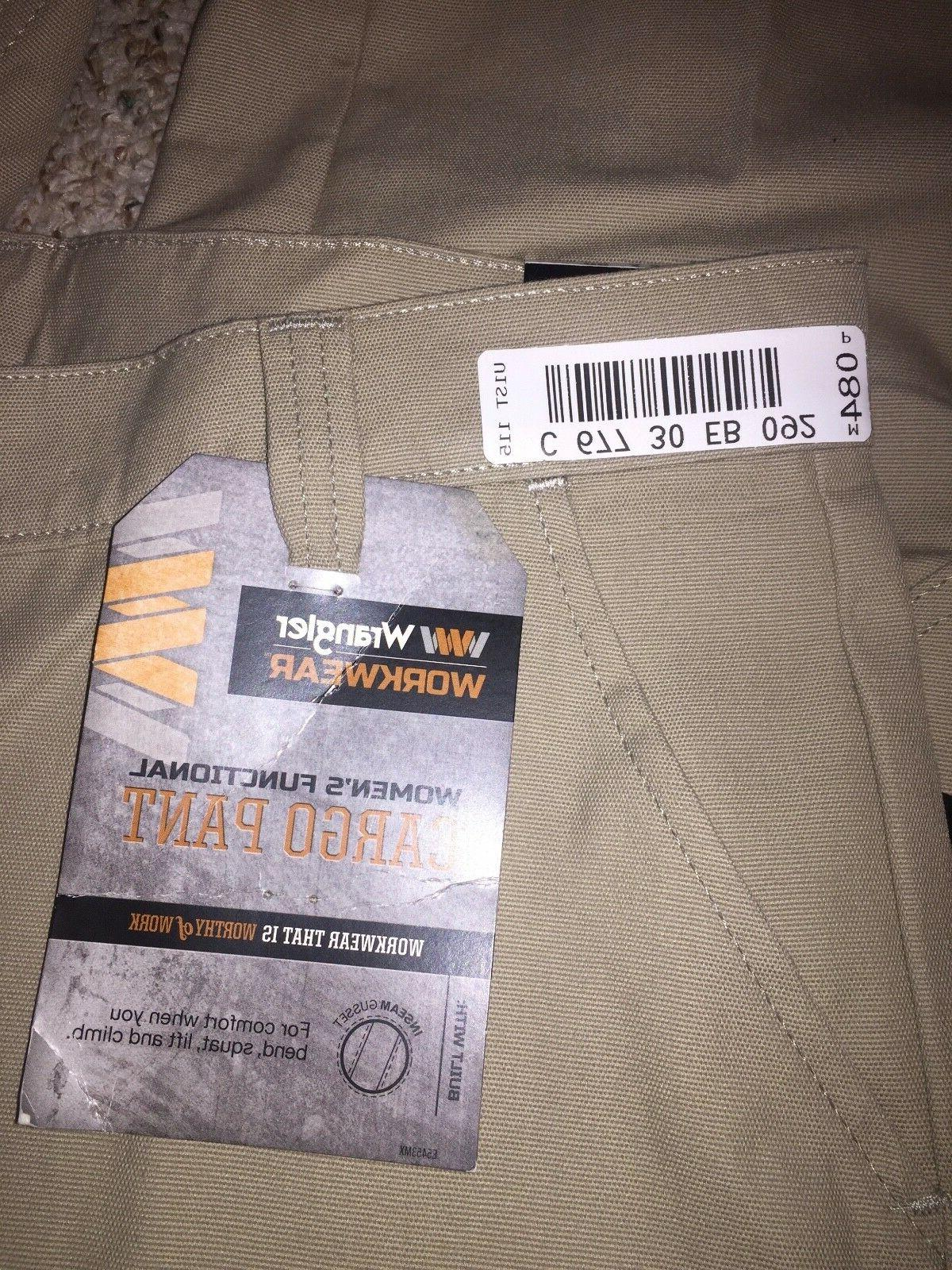 Wrangler Women's Cargo Pant Tags