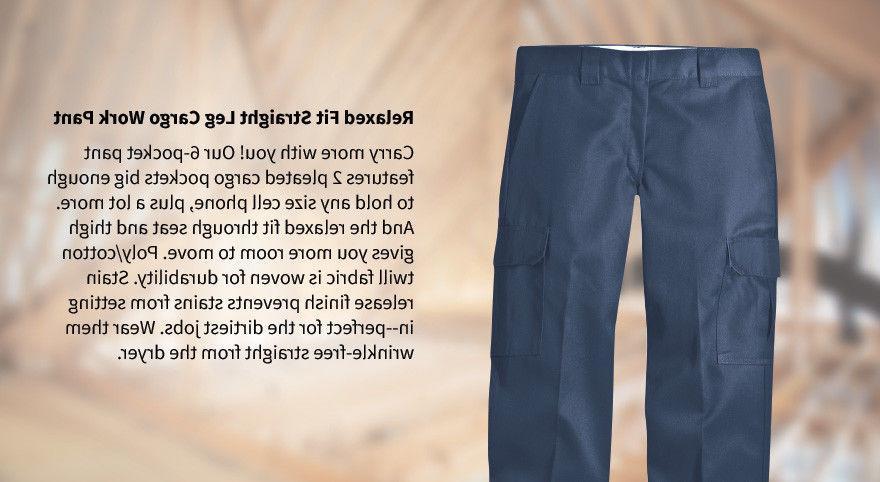 Fit Cargo Straight Leg Workwear