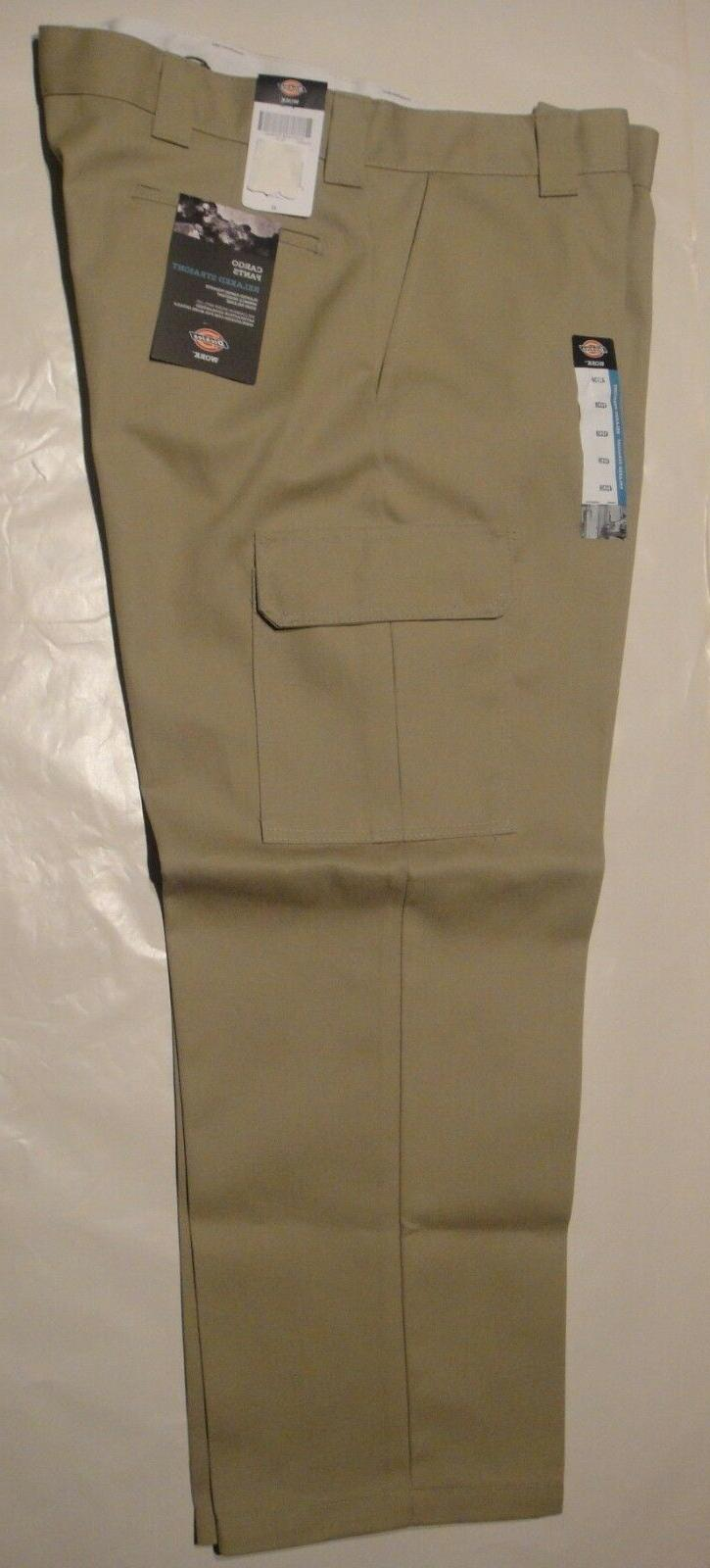 DICKIES WP592 Relaxed Fit Straight Leg Cargo Pants DESERT SA