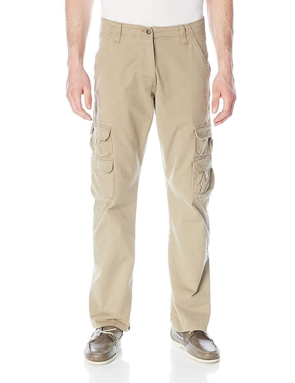 Wrangler Authentics Men's Premium Relaxed Cargo Pant