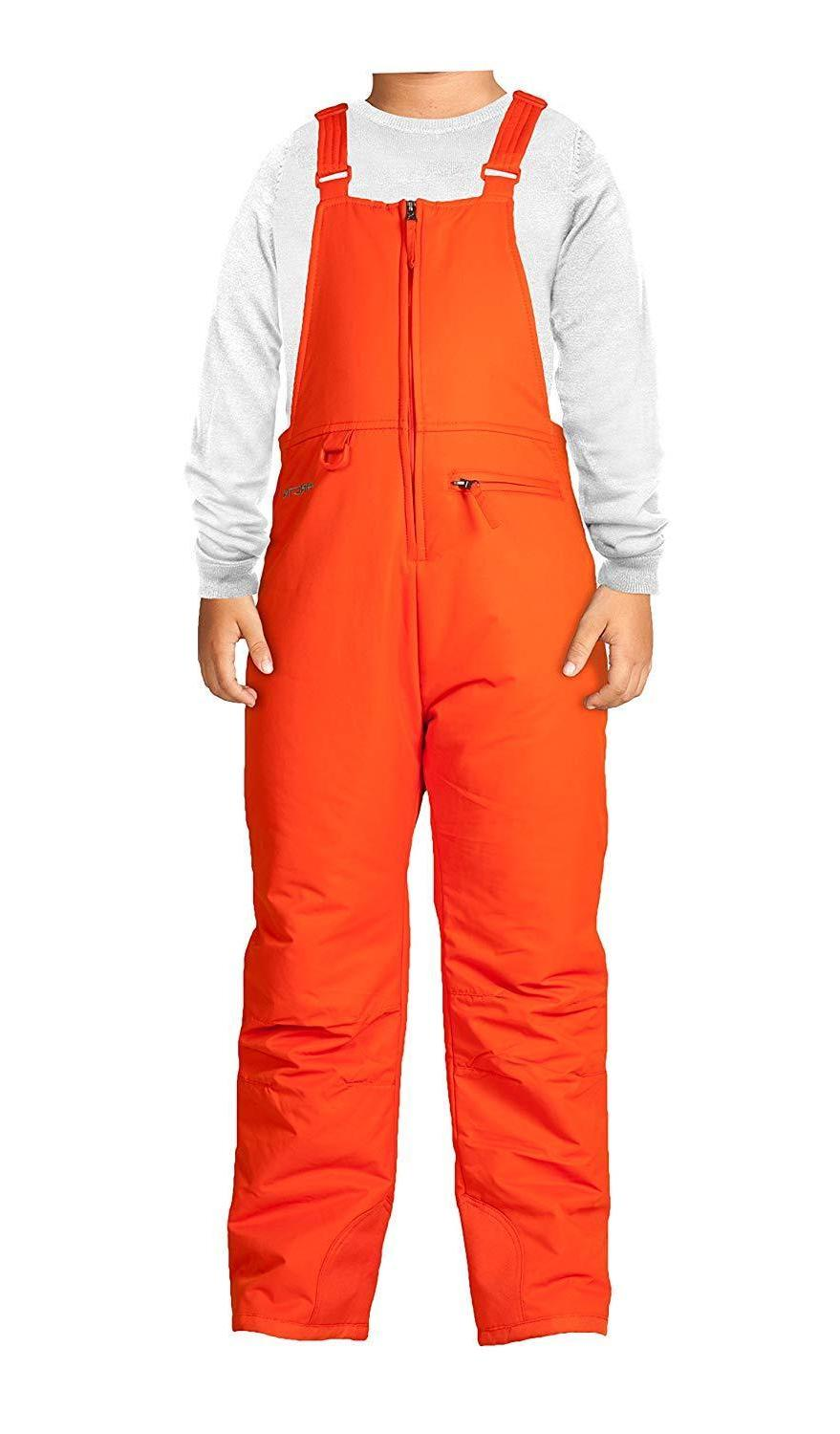 youth overalls snow bib thermatech insulation warmth