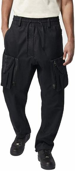 Nike NikeLab ACG Cargo Pants Black Neon Green AQ3524-010 Men