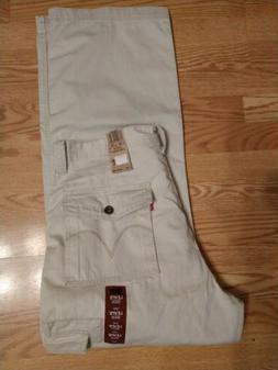 Levi's Cargo Pants Loose Straight 6420002 Light Beige 100% C