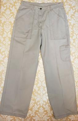 Levi's Dry Goods Men's Tan Straight Leg Cargo Beige Pants Si