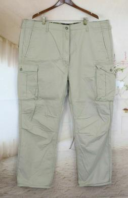 Levi's Khaki Cargo Pants Size 44x32  Tan Khaki 100% Cotton N