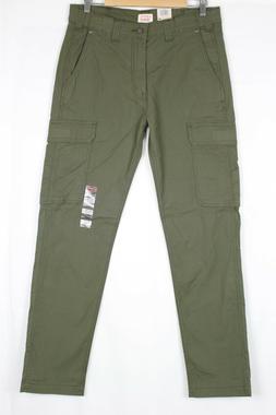 Levi's Men's 502 Taper Fit Hybrid Cargo Pants Olive Night Gr