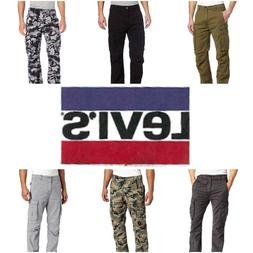 Levi's Men's Relaxed Fit Ace Cargo Utility Twill Pants Multi