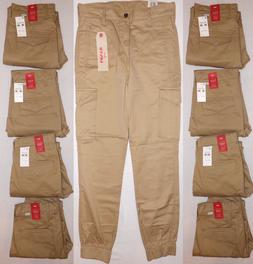 LEVI'S MEN'S BANDED CARGO JOGGER HARVEST GOLD PANTS 30X30 #2