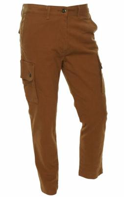 Levi's Men's Slim Fit Tapered Utility Cargo Pants Light Brow