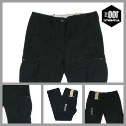 Levis Ace Cargo Pants Black Mens Relaxed Fit 100% Cotton MAN