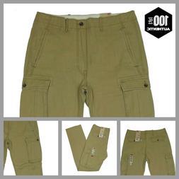 Levis Ace Cargo Pants Khaki Mens Relaxed Fit 100% Cotton MAN