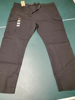 Levis Black 502 Regular Taper Stretch Ripstop Cargo Pant Mul