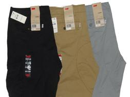 Levis Relaxed Fit Ace Cargo Pants Beige Tan Black Grey Gray