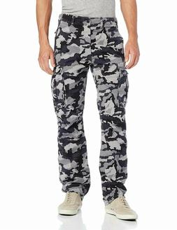 Levis Relaxed Fit Ace Cargo Pants Color Dark Grey Camouflage