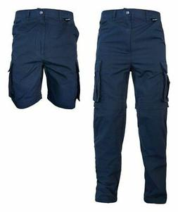 LION Utility Teflon Coated RipStop Zip Off Cargo Pants Short