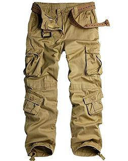 men s cotton casual military army cargo