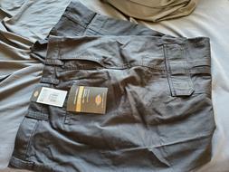 Dickies Men's Loose Fit Cargo Work Pant, Black, 44x32