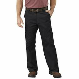 Dickies Men's Loose Fit Cargo Work Pant, Dark Navy, 42x32