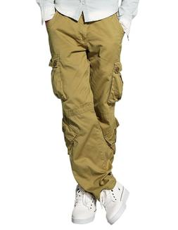 Match Men's Wild Cargo Pants 3357 Khaki 36 British