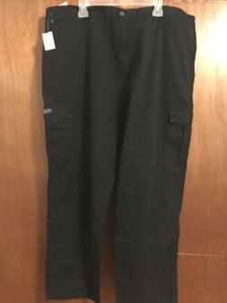wrangler men cargo black pants 46x30