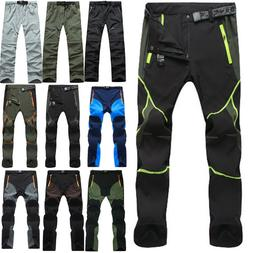 Mens Outdoor Hiking Tactical Trousers Combat Cargo Work Pant
