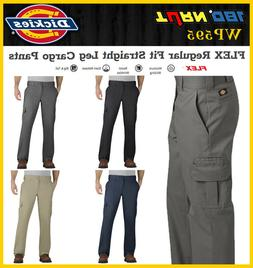 Dickies Men FLEX Regular Fit Straight Leg Cargo stretch Pant
