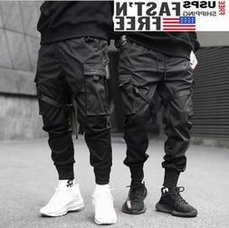 Men Harajuku Hip Hop Harem Pants Cargo Pants Street Fashion