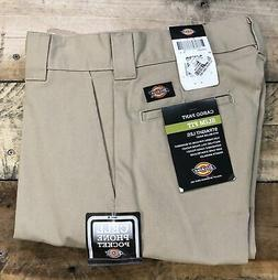Dickies Men's 30x30 FLEX Slim Fit Straight Leg Cargo Pants W