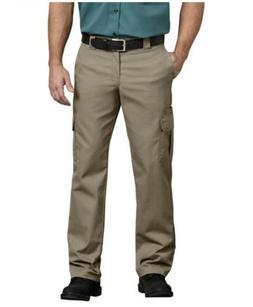 Dickies Men's 38x30 FLEX Slim Fit Straight Leg Cargo Pants W