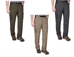 BC Clothing Men's Adjustable Belted Cargo Pants