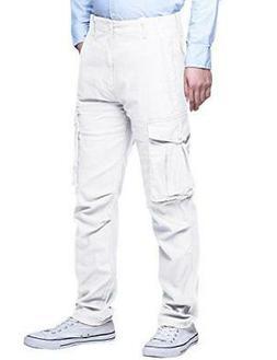 Match Men's Athletic-Fit Cargo Pant -SIZE: 32
