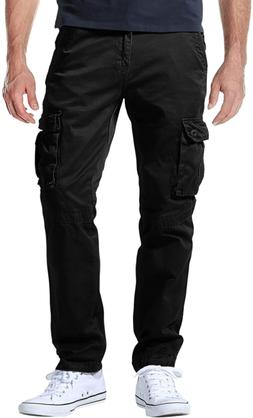 Match Men'S Athletic-Fit Cargo Pants