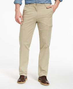 Dockers Men's Beige Utility Cargo Straight Fit Pants