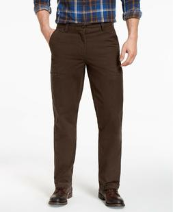 Dockers Men's Brown Utility Cargo Straight Fit Pants