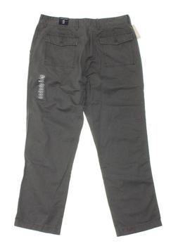 Nautica Men's Cargo Back Pocket Casual Pants - Gray - Size 3