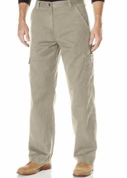 Wrangler Men's Cargo Pants Jeans Tan Khaki Authentics Size 3