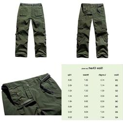 Jessie Kidden Men'S Cargo Regular Trouser Army Combat Work T