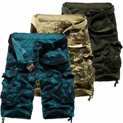 men s cargo shorts military camo army