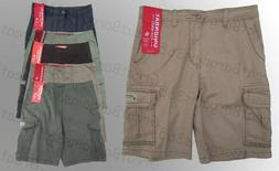 Men's UnionBay Cargo Shorts Pants Casual Cotton Grey Beach W