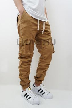 MEN'S CARGO TWILL STRETCH JOGGER PANTS  4 COLORS VICTORIOUS
