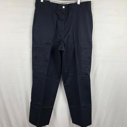 Dickies Men's Cargo Work Pants Size 38x32 Navy blue Loose Fi