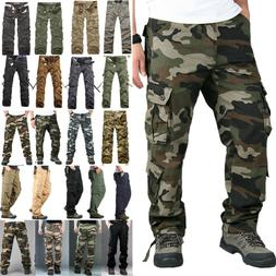 fdd77ab7 Men's Combat Tactical Cargo Work Army Pants Military Camoufl