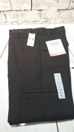 Men's Dockers Comfort Cargo pants size 30x32 black  new