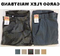 Men's Wrangler Comfort Flex Waistband Cargo Pant Tech Pocket