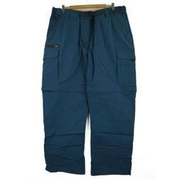 "BC Clothing Men's Convertible Stretch Cargo Pants, XXL x 30"""